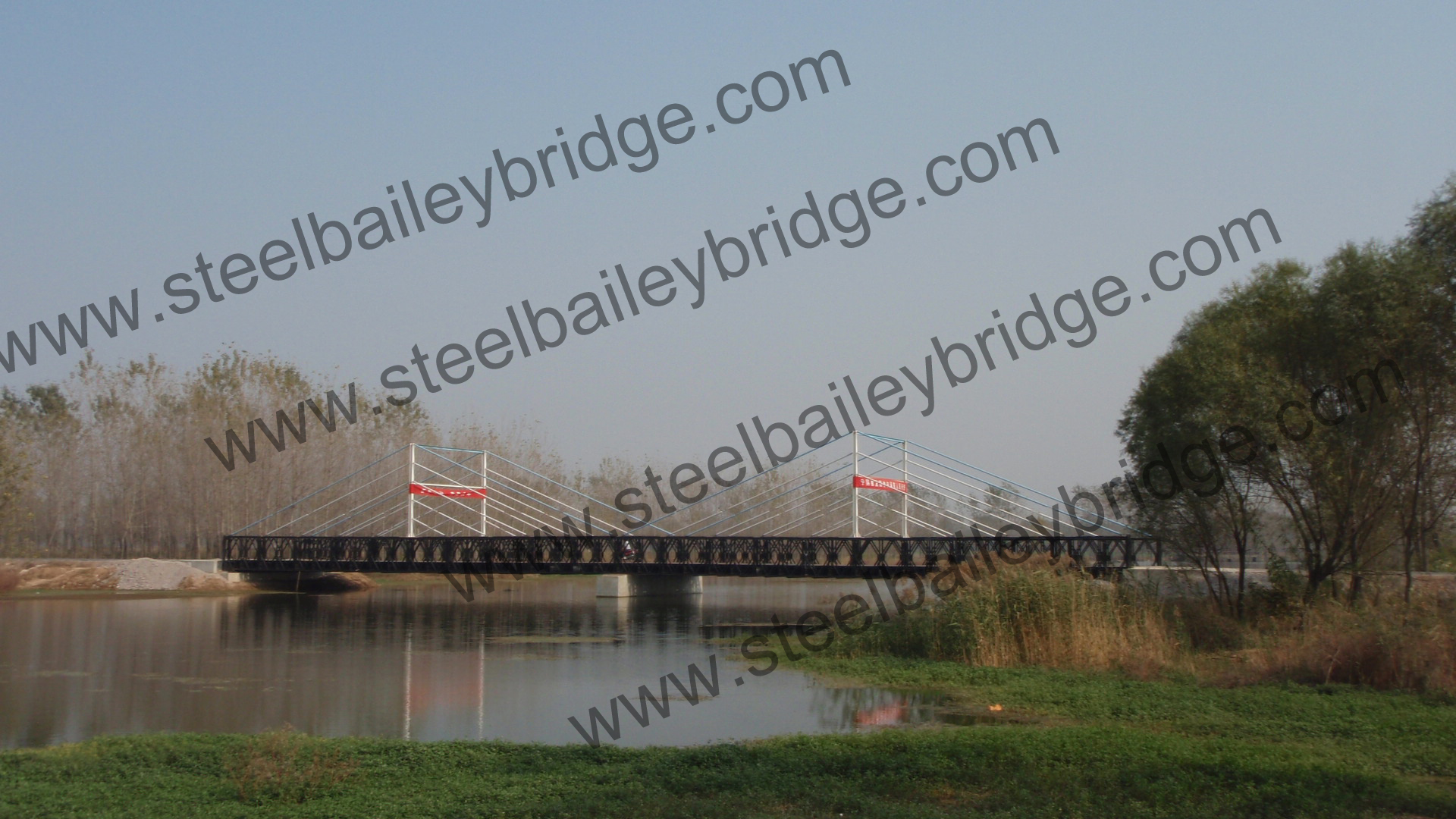 Bailey bridge in Anhui Province